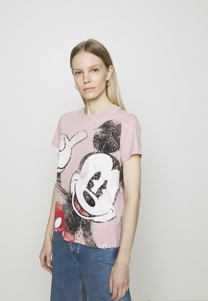 Desigual - MICKEY - T-shirt print - red