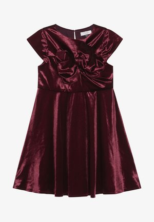 VICTORIANA DRESS - Cocktail dress / Party dress - burgundy