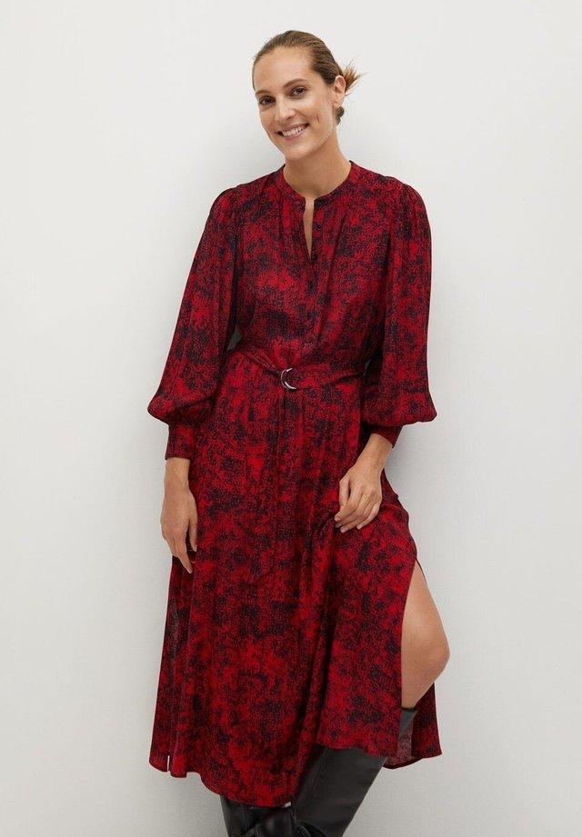 LULU - Długa sukienka - rouge