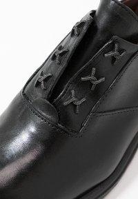 MJUS - Šněrovací boty - nero - 2