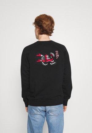 TEIDE PANTHER UNISEX - Sweatshirt - black washed