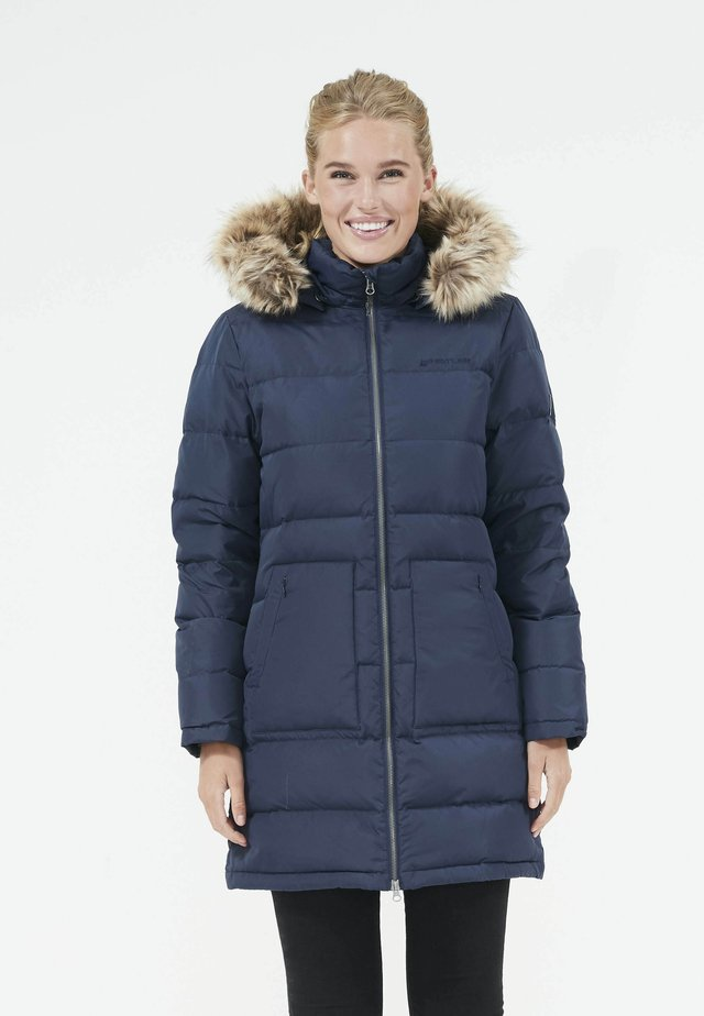 Down coat - navy blazer
