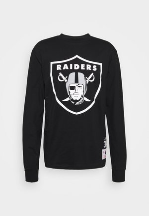 NFL LOS ANGELES RAIDERS TEE - Klubové oblečení - black