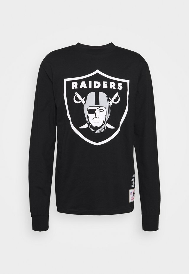 NFL LOS ANGELES RAIDERS TEE - Fanartikel - black