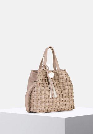 CALLY - Tote bag - taupe