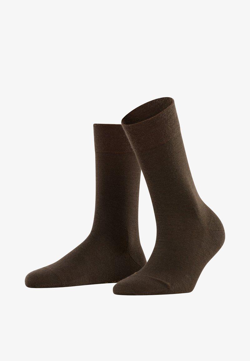 FALKE - SENSITIVE BERLIN - Socks - dark brown