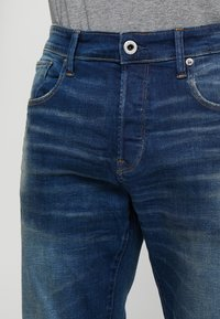 G-Star - 3301 STRAIGHT FIT - Straight leg jeans - joane stretch denim - worker blue faded - 3