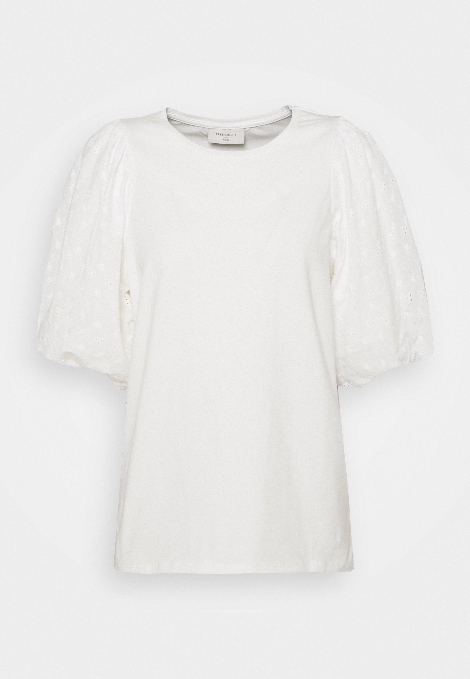 Damen VISTA TEE BALLOON - T-Shirt print - offwhite