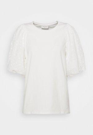 VISTA TEE BALLOON - Print T-shirt - offwhite