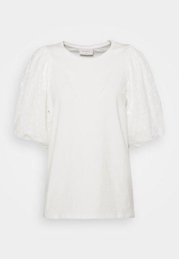 VISTA TEE BALLOON - T-shirt z nadrukiem - offwhite