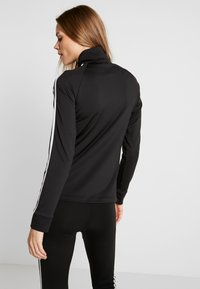 adidas Performance - 3STRIPES DESIGNED2MOVE SPORT TRACK TOP - Træningsjakker - black/white - 2