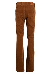 CKS - BERKLEY - Flared Jeans - cognac - 1