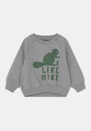 BEAVER HIKE UNISEX - Sweatshirt - grey melange