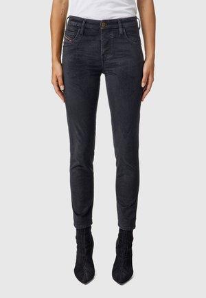 BABHILA  - Slim fit jeans - black dark grey