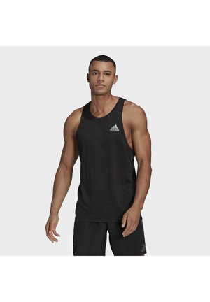 RUNNER TANK TOP - Linne - black