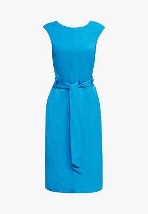 MIT BINDEGÜRTEL - Day dress - turquoise