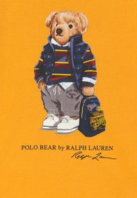 Polo Ralph Lauren - Triko spotiskem - gold bugle - 2