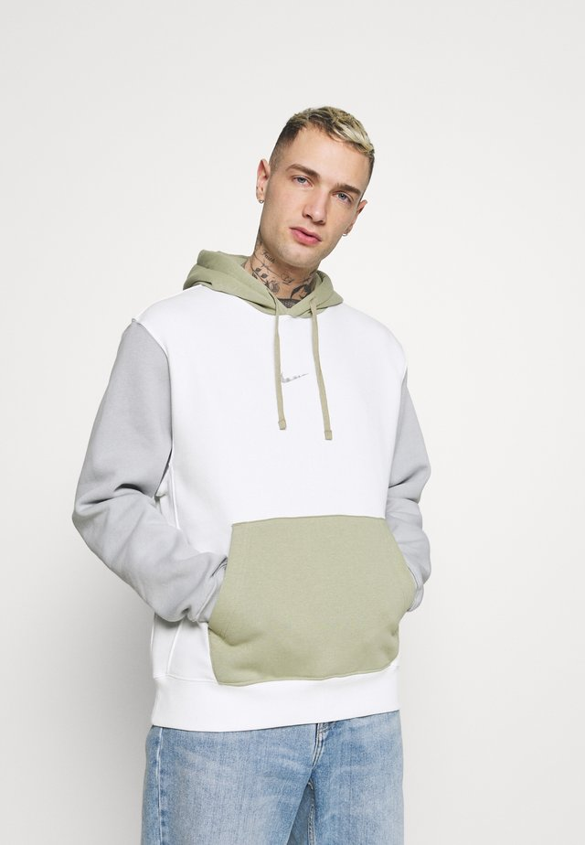 HOODIE  - Sweatshirt - summit white/light smoke grey