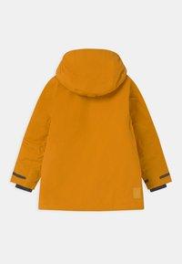 Didriksons - OSTRONET UNISEX - Winter jacket - yellow ochre - 1