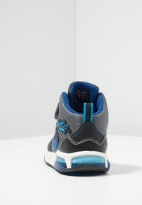 Geox - INEK BOY - Sneaker high - black/royal - 3