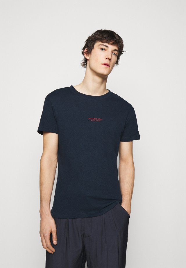 T-shirt basic - navy melange