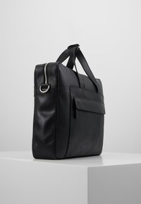 Pier One - LEATHER - Briefcase - black - 3