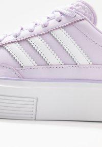 adidas Originals - SLEEK SUPER 72 - Sneakers - purple tint/footwear white/crystal white - 2
