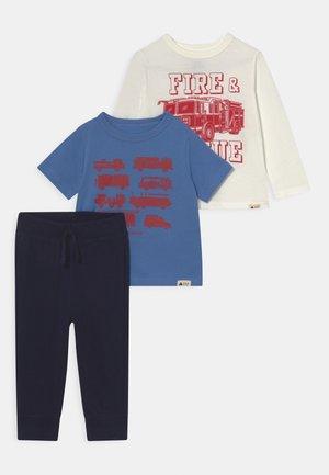 OUTFIT SET - T-shirt print - cabana blue