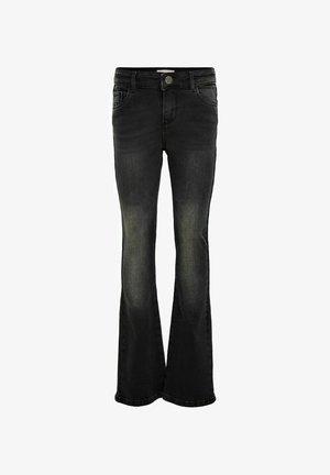 KONLINN  - Flared Jeans - dark grey denim