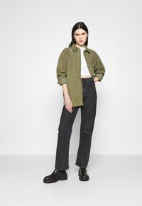 Topshop - Button-down blouse - khaki - 1