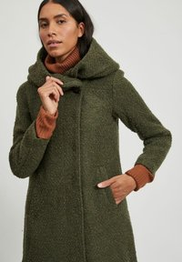 Vila - Classic coat - forest night - 3
