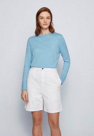 FIBINNA - Strickpullover - light blue
