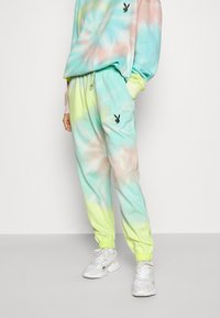 Missguided - PLAYBOY TIE DYE JOGGER - Tracksuit bottoms - multi - 0