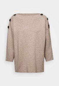 Freequent - FQANI - Jumper - oxford tan melange - 4
