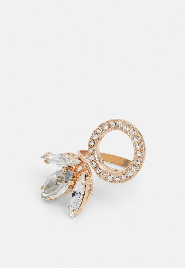 TULIP MOTIF CIRCLE - Ringar - gold-coloured