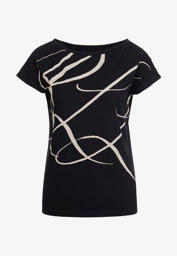 UPTOWN - Print T-shirt - black