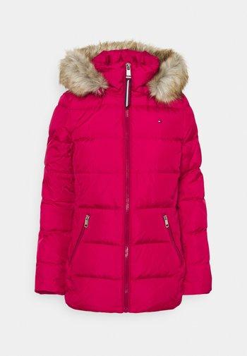 BAFFLE - Down jacket - royal magenta