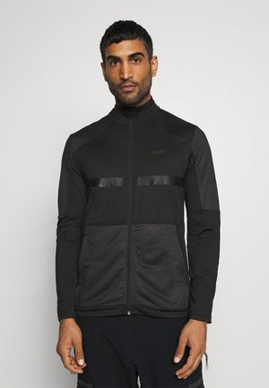 EXETER - Fleece jacket - black