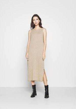 YASJENNI MIDI DRESS - Jumper dress - tawny brown