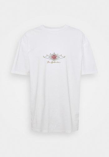 BOXY TEE - Print T-shirt - off white