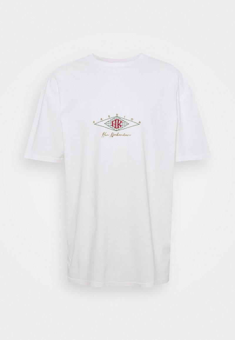Han Kjøbenhavn - BOXY TEE - Print T-shirt - off white
