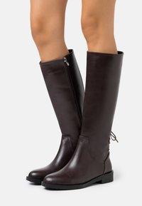Trendyol - Vysoká obuv - brown - 0