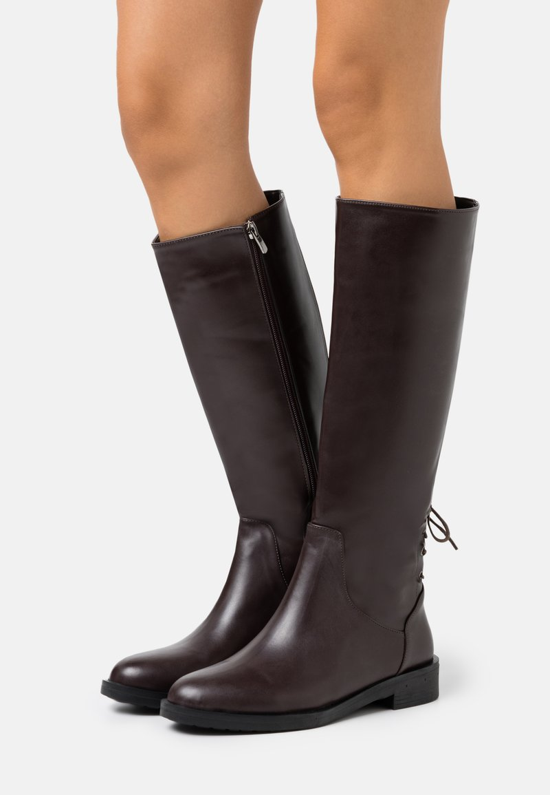 Trendyol - Vysoká obuv - brown