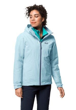 Waterproof jacket - frosted blue