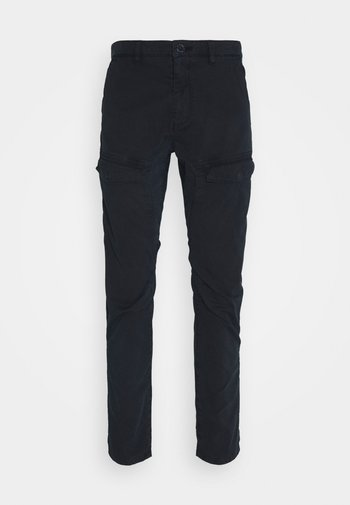 Cargo trousers - dark navy
