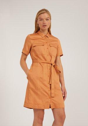 MIRVAA - Shirt dress - toasted hazel