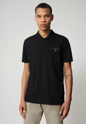 ELLI - Polo shirt - black