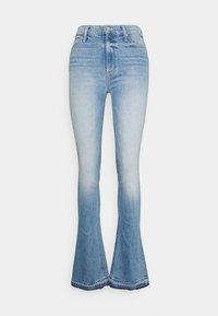 Mother - RUNAWAY UNDONE - Bootcut jeans - light blue - 0