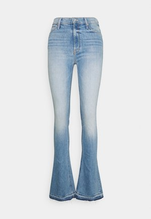 RUNAWAY UNDONE - Bootcut jeans - light blue