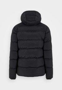 STRETCH JACKET - Down jacket - black